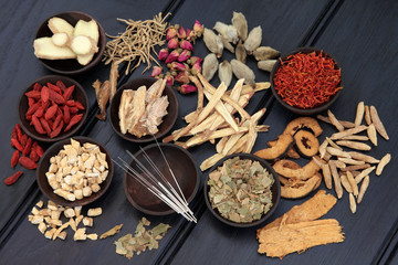 Various Chinese Herbs